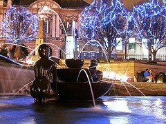 Birmingham Winter Fountain